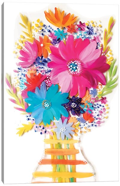 Bouquet V Canvas Art Print