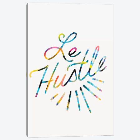 Le Hustle Canvas Print #ETV91} by ETTAVEE Canvas Wall Art