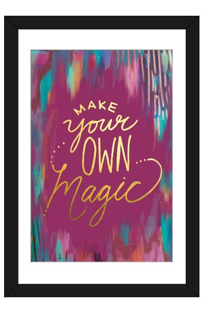 Mystique Make Magic Framed Art Print