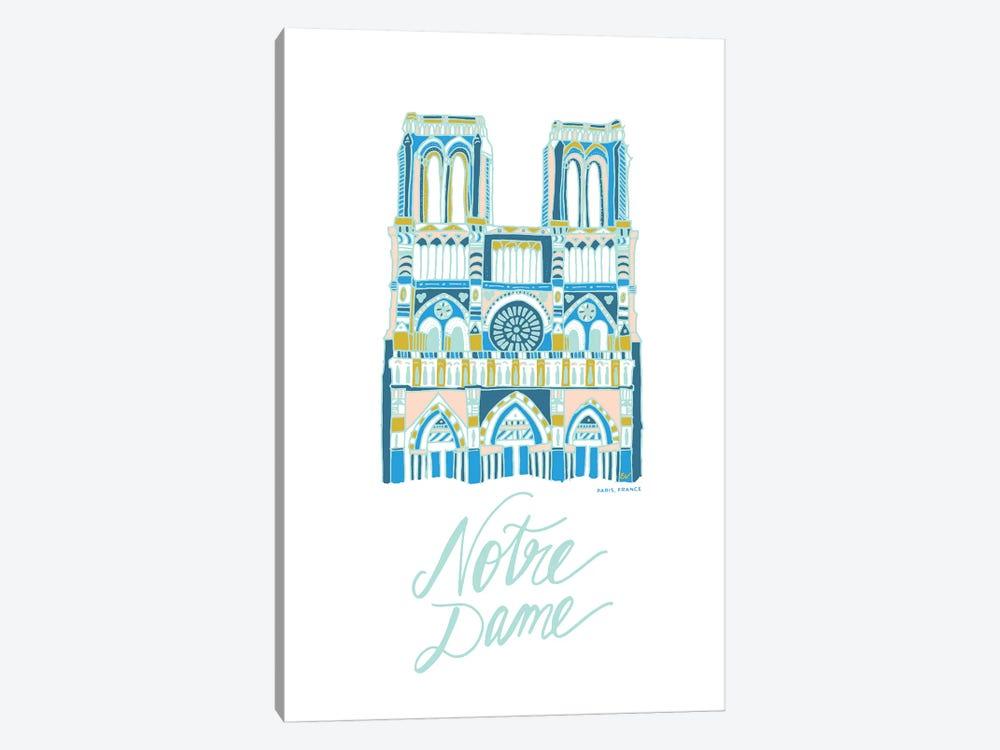 Notre Dame by ETTAVEE 1-piece Art Print