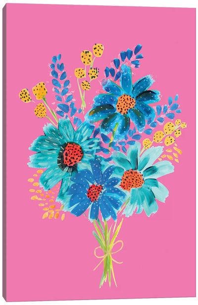Bouquet VI Canvas Art Print