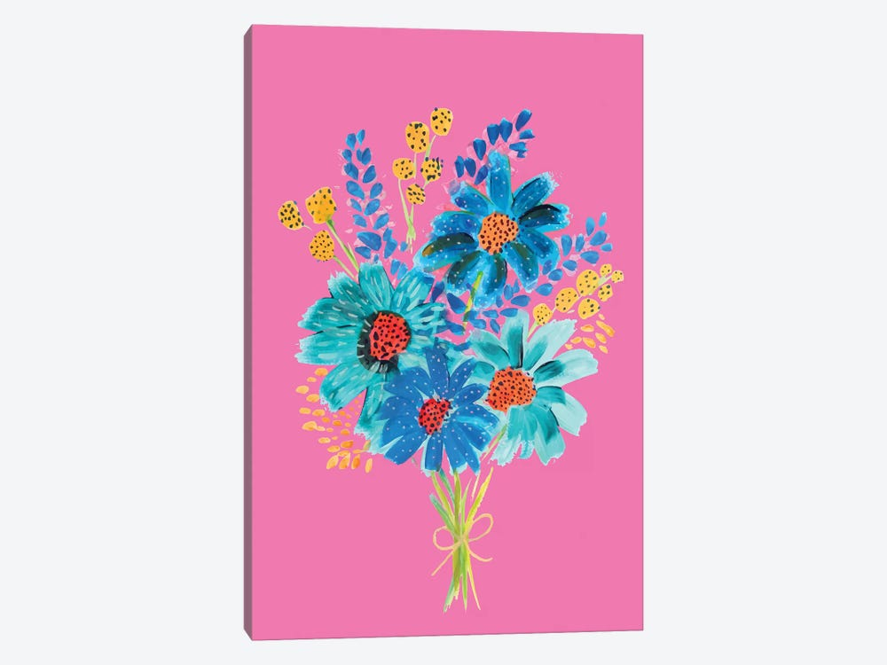 Bouquet VI by ETTAVEE 1-piece Canvas Wall Art
