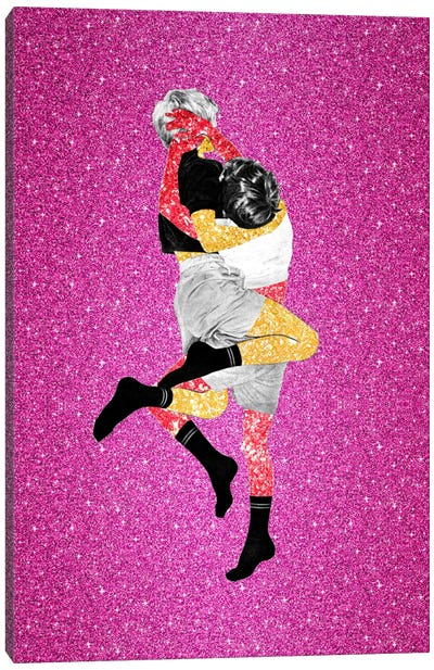 Eugenia Loli - Glitter Fight Canvas Art Print