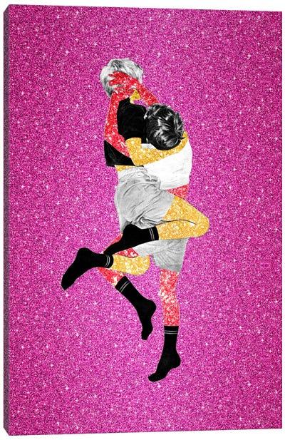 Eugenia Loli - Glitter Fight Canvas Art Print