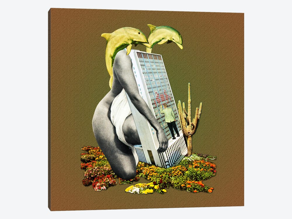 Eugenia Loli - Indoctrination Of A Whore by Eugenia Loli 1-piece Canvas Art