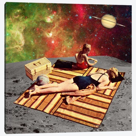 Eugenia Loli - Lunar Vacations Canvas Print #EUG17} by Eugenia Loli Art Print