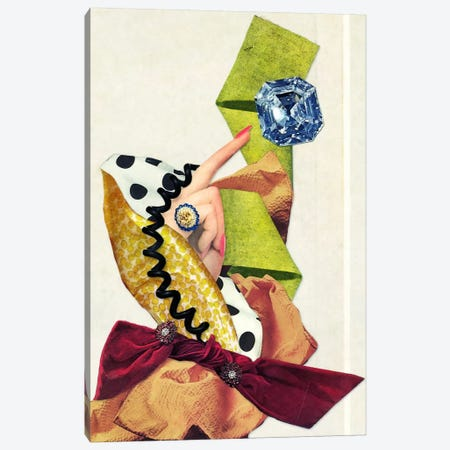 Eugenia Loli - Marie Antoinette Canvas Print #EUG18} by Eugenia Loli Canvas Artwork