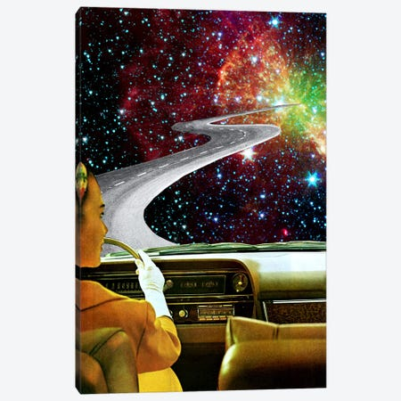 Eugenia Loli - On The Road To The Akashic Library Canvas Print #EUG21} by Eugenia Loli Art Print