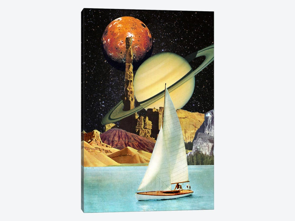 Eugenia Loli - Orinoco Flow by Eugenia Loli 1-piece Canvas Art Print