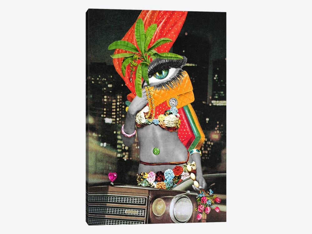 Eugenia Loli - Retail Therapy by Eugenia Loli 1-piece Canvas Art Print