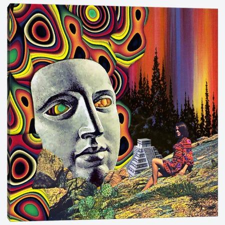 Eugenia Loli - Return Of Quetzalcoatl 3-Piece Canvas #EUG25} by Eugenia Loli Canvas Art