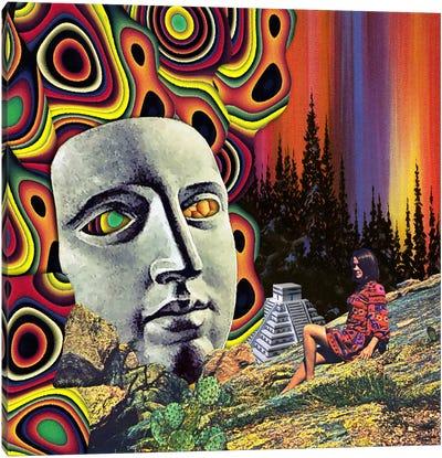 Eugenia Loli - Return Of Quetzalcoatl Canvas Art Print