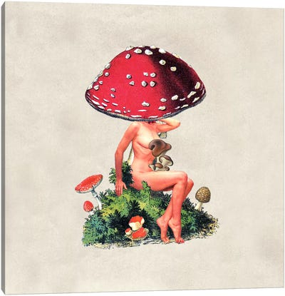 Eugenia Loli - Shroom Girl Canvas Art Print