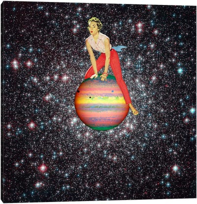 Eugenia Loli - Star Hopper II Canvas Art Print
