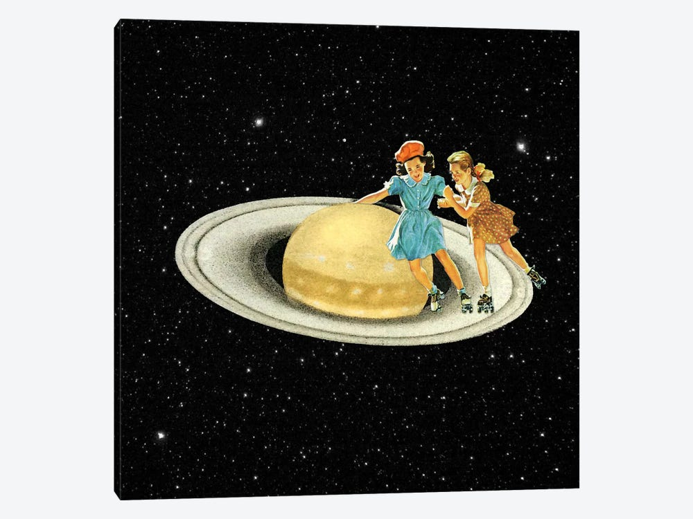 Eugenia Loli - Stroll On Saturn by Eugenia Loli 1-piece Art Print