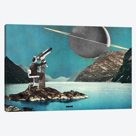 Eugenia Loli - The Astronomer Canvas Print #EUG34} by Eugenia Loli Art Print