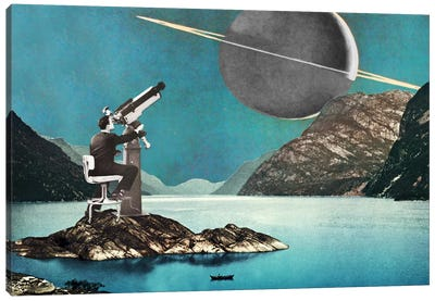 Eugenia Loli - The Astronomer Canvas Art Print