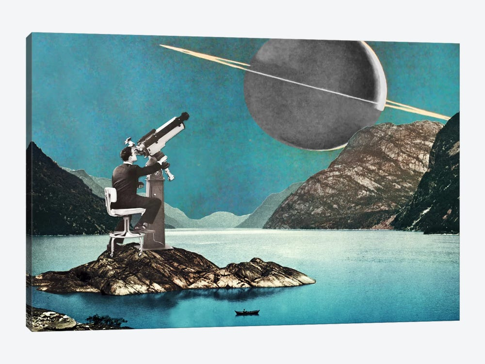 Eugenia Loli - The Astronomer by Eugenia Loli 1-piece Canvas Wall Art
