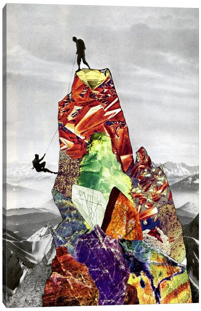 Eugenia Loli - The Impossibilities Of My Absolute On Your Unmendable Truth Canvas Art Print