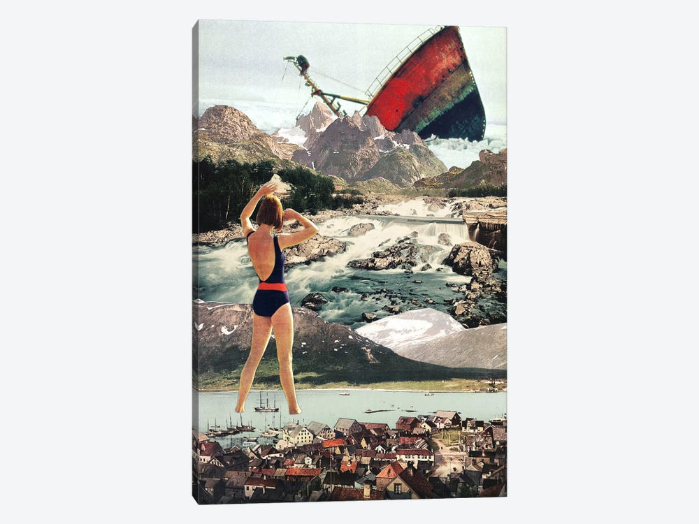 Eugenia Loli - The Wreck by Eugenia Loli 1-piece Canvas Wall Art