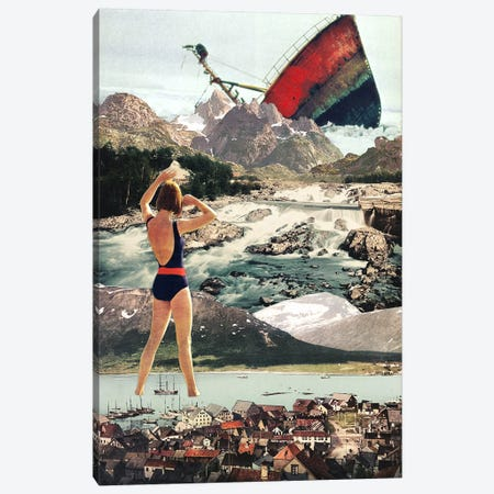 Eugenia Loli - The Wreck Canvas Print #EUG36} by Eugenia Loli Canvas Print