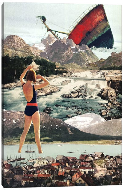 Eugenia Loli - The Wreck Canvas Art Print
