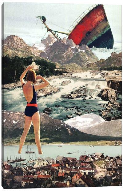 Eugenia Loli - The Wreck Canvas Art Print