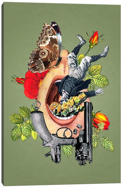 Eugenia Loli - Throttled Infrastructure Canvas Art Print