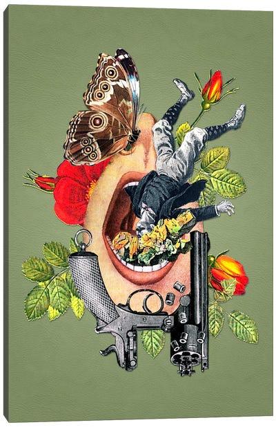 Eugenia Loli - Throttled Infrastructure Canvas Art Print