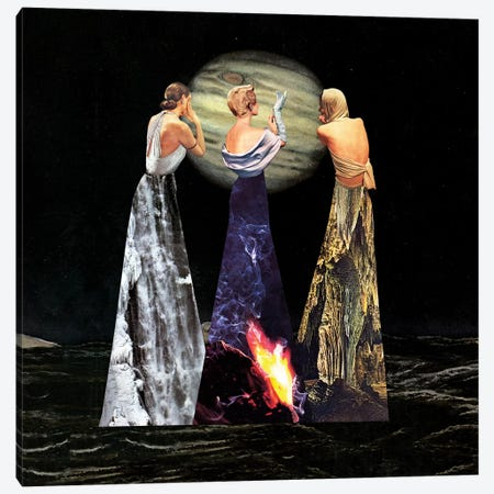 Eugenia Loli - The Three Erinyes Canvas Print #EUG42} by Eugenia Loli Canvas Print