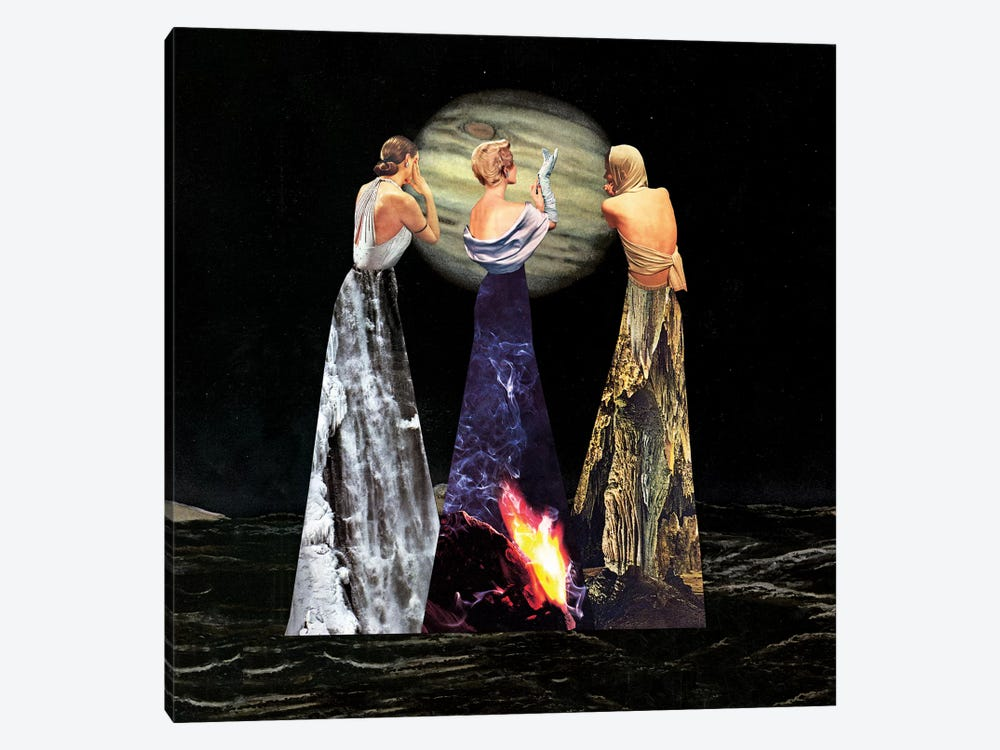 Eugenia Loli - The Three Erinyes by Eugenia Loli 1-piece Canvas Art Print