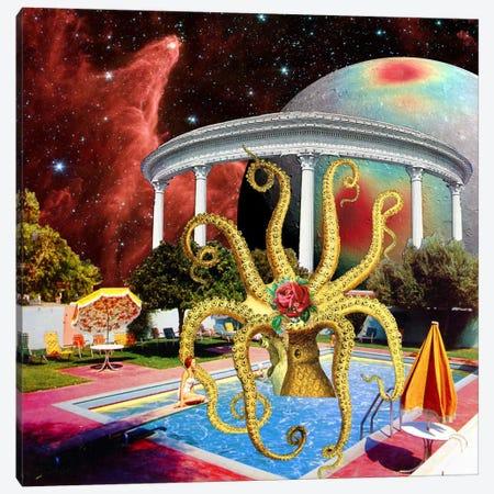 Eugenia Loli - Charitable Octopoda Canvas Print #EUG4} by Eugenia Loli Canvas Wall Art