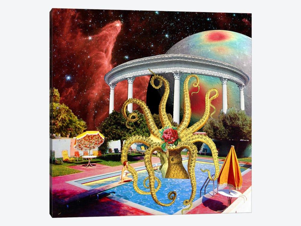 Eugenia Loli - Charitable Octopoda by Eugenia Loli 1-piece Canvas Art Print