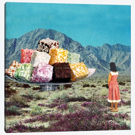 Eugenia Loli - Desert Dessert Canvas Print #EUG7} by Eugenia Loli Canvas Artwork