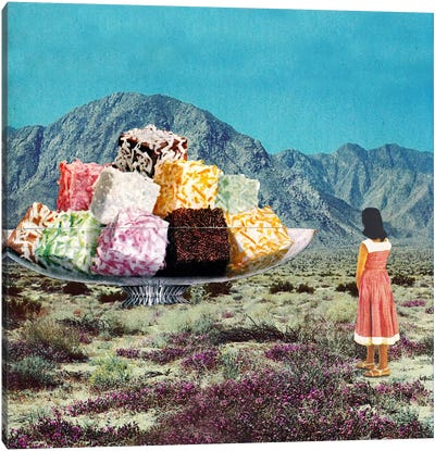 Eugenia Loli - Desert Dessert Canvas Art Print