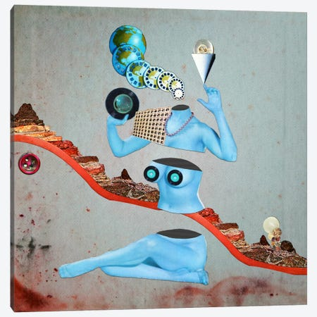 Eugenia Loli - Duochrome Vinyl Canvas Print #EUG8} by Eugenia Loli Art Print