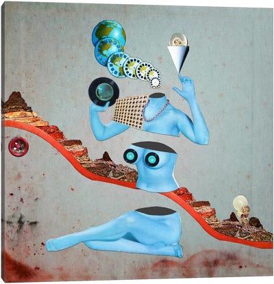 Eugenia Loli - Duochrome Vinyl Canvas Art Print