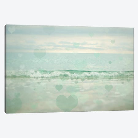 Oceans Of Love I Canvas Print #EUR32} by Elizabeth Urquhart Art Print