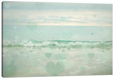 Oceans Of Love I Canvas Art Print