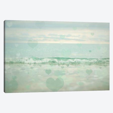 Oceans Of Love I Canvas Print #EUR32} by Elizabeth Urquhart Art Print