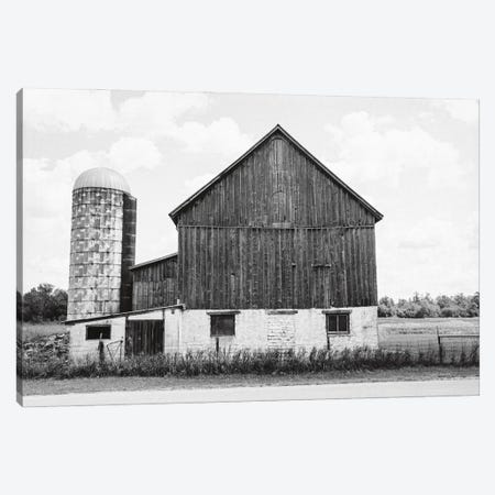 Weathered III BW Canvas Print #EUR37} by Elizabeth Urquhart Canvas Artwork