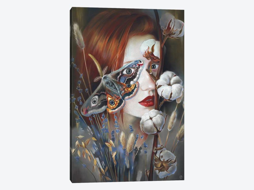 Moth by Eugenia Shchukina 1-piece Canvas Artwork
