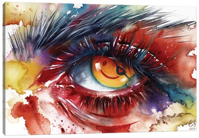 Pirate Eye Canvas Art Print