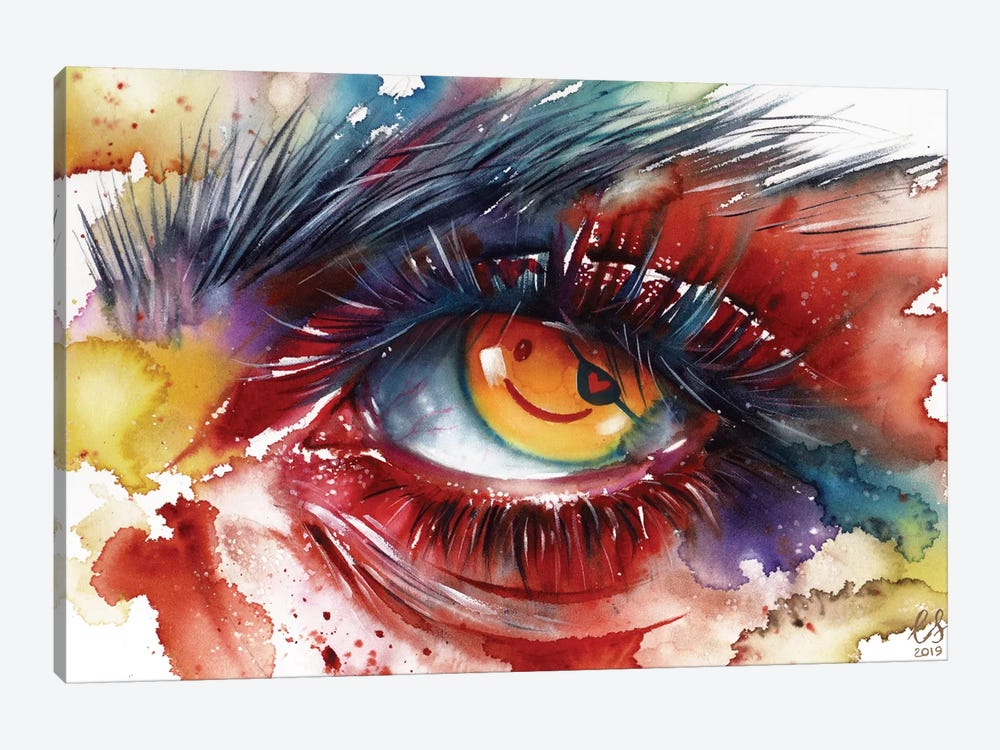 Pirate Eye by Eugenia Shchukina 1-piece Canvas Wall Art