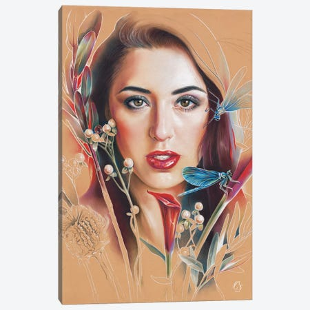 Poly Canvas Print #EUS13} by Eugenia Shchukina Canvas Artwork