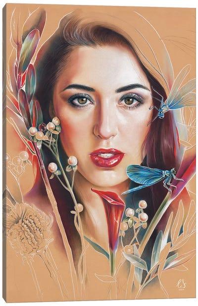 Poly Canvas Art Print