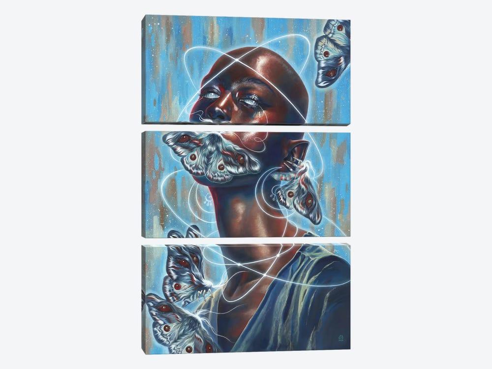 Silence by Eugenia Shchukina 3-piece Canvas Artwork