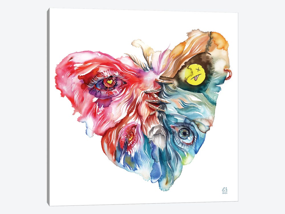 All You Need Is Love by Eugenia Shchukina 1-piece Canvas Artwork