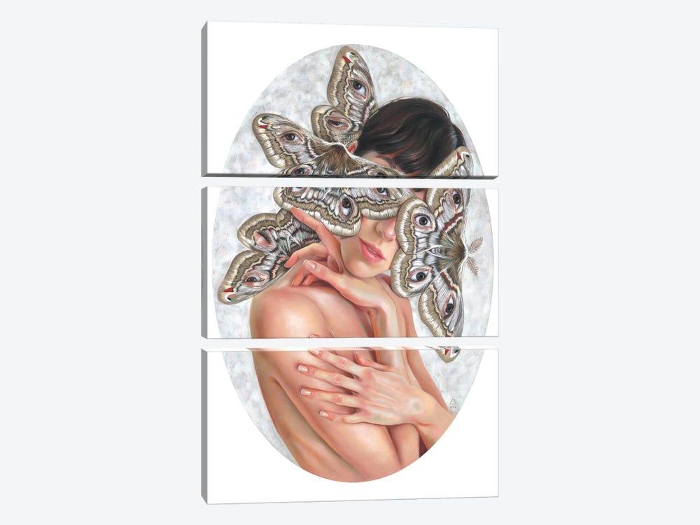 I Feel You by Eugenia Shchukina 3-piece Canvas Artwork