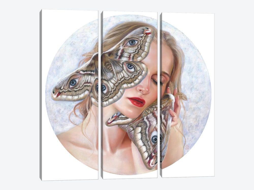 I Hear You by Eugenia Shchukina 3-piece Canvas Art Print